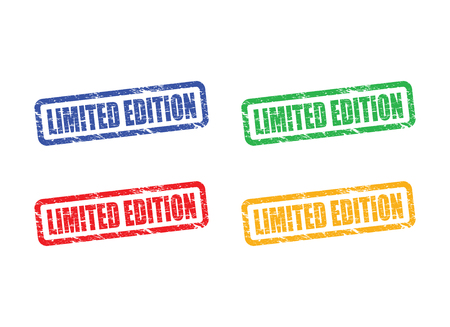 rarity: limited edition stamp set