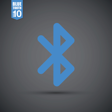 bluetooth: bluetooth icon Illustration