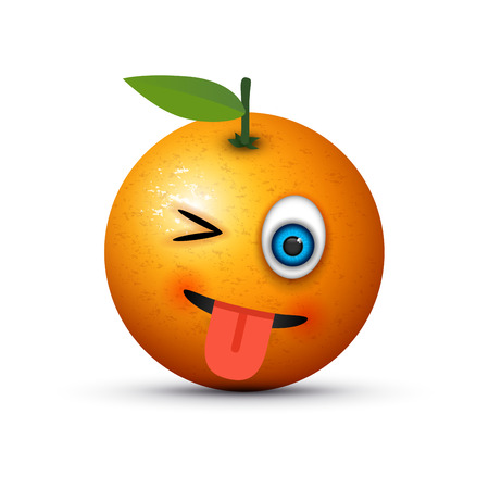 Languissement clignotant d'orange