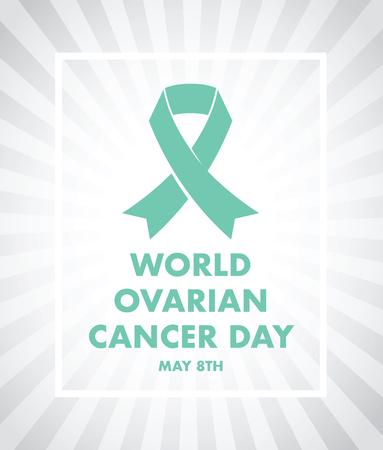Ovarian cancer day Vektorové ilustrace