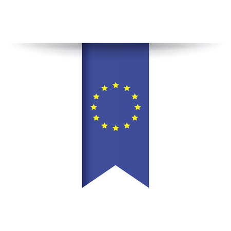 european: european flag Illustration