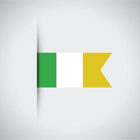 colors: ireland flag