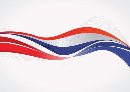 French flag background Ilustracja
