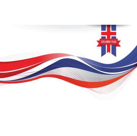 the icelandic flag: iceland flag background