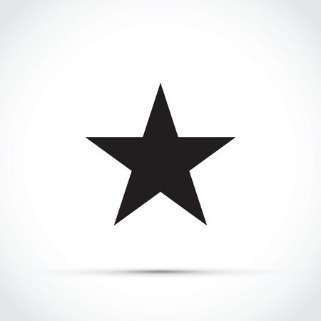 black star icon Illustration