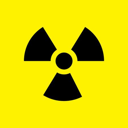 radioactive sign: Radioactive sign Illustration