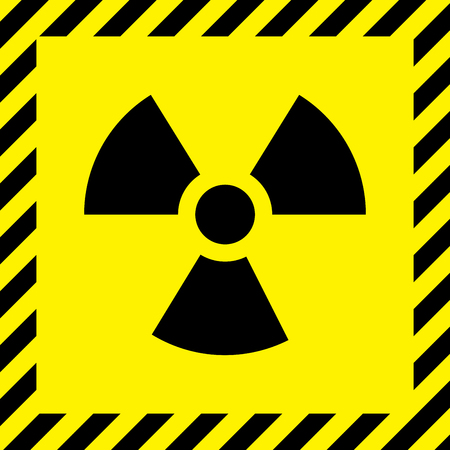 nuke: Radioactive cityscape sign