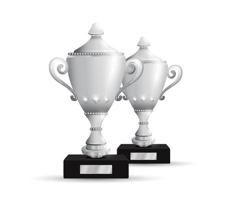 team effort: Trophies Illustration