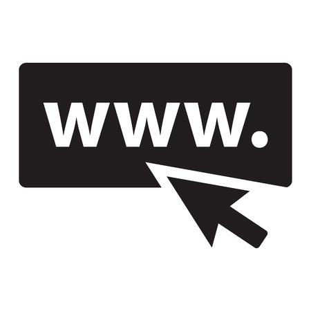 black: website address