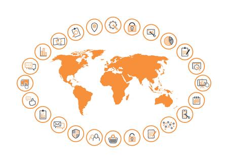 internet management map