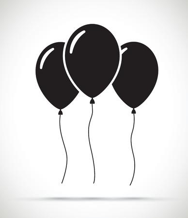 Ensemble de ballons Illustration