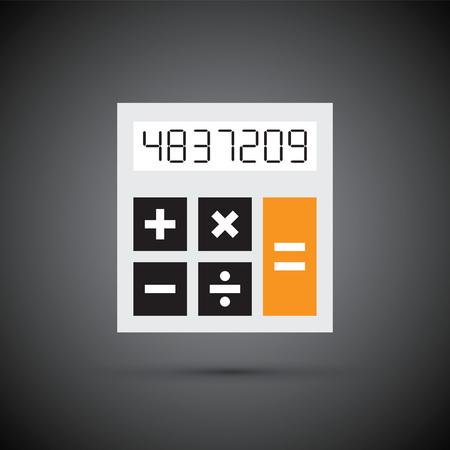 simple calculator Illustration