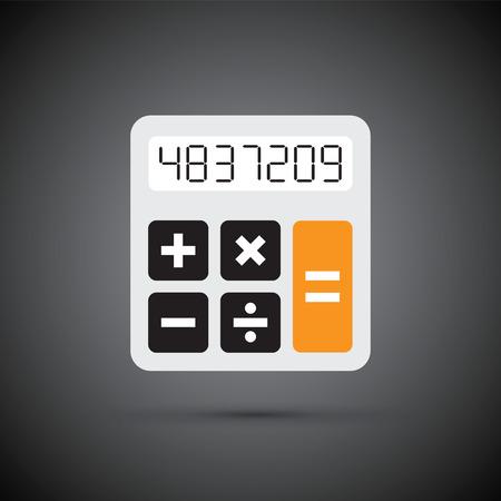 a simple calculator Illustration
