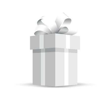 grey wrapped present