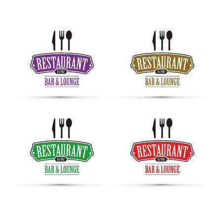 Restaurant design vector concept. Illustration