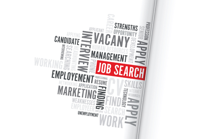 job search background text