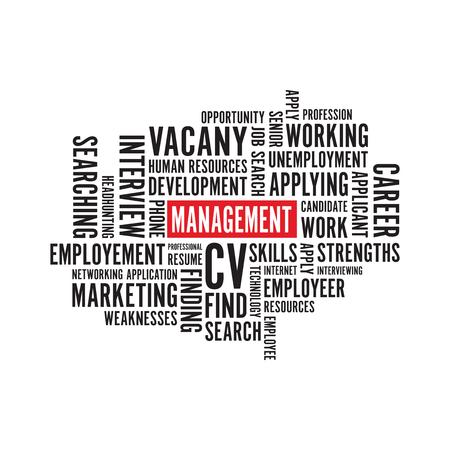 management text background