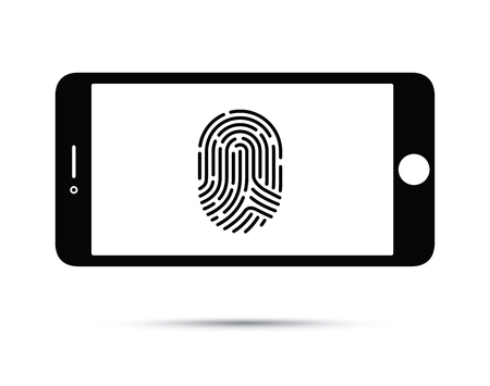 Cell phone with finger print technology