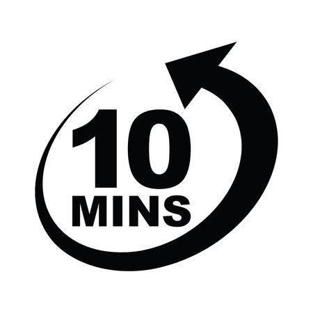 icône de dix minutes