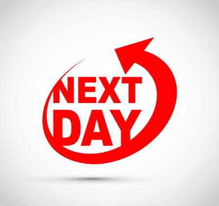 Next day icon