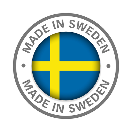 made in Sweden flag icon