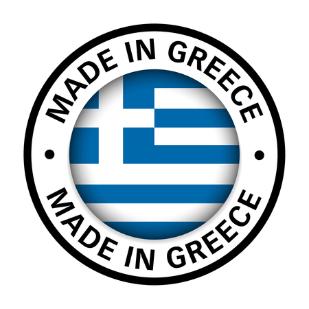 made in greece flag icon