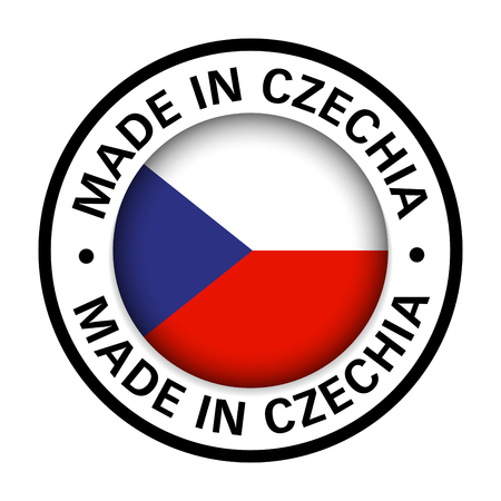 made in Czechia flag icon