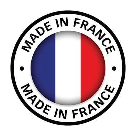 made in france flag icon Stock Illustratie