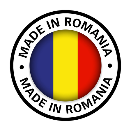 made in Romania flag icon