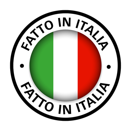 made in italy flag icon