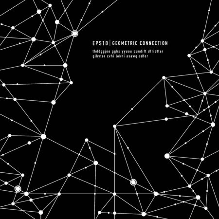 Geometric connection background