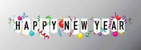 Happy new year bunting
