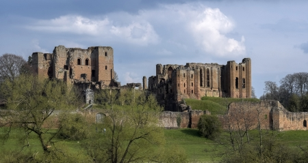 kenilworth castle warwickshire the midlands england uk