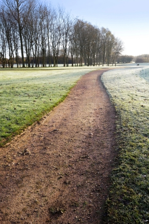 a golf course in the winter Stock Photo - 14116262