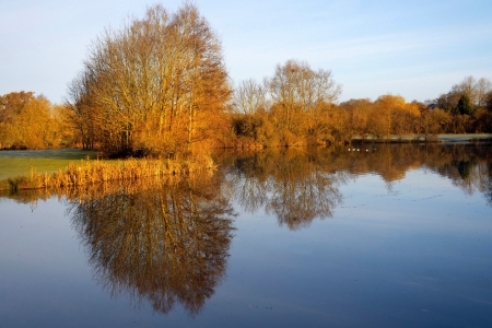 arrow valley lake country park redditch worcestershire midlands england uk Stock Photo - 14122753