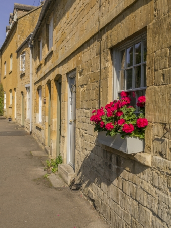 village with houses in countryside Stock Photo - 16401277