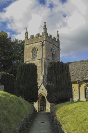 church in rural England UK photo