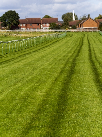 horse racing track England UK