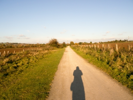 country path in rural england photo