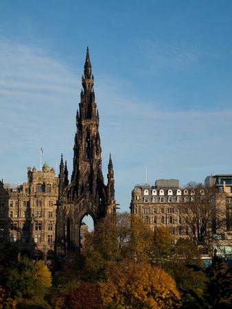 sir walter scott: Scott Monument, Edinburgh, Scotland