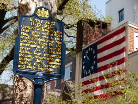 Betsy Ross - Philadelphia, USA