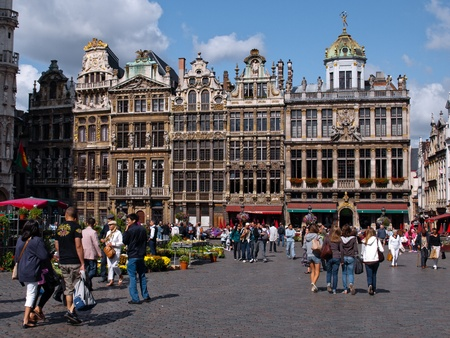 Guild Halls, Grand Place, Brussels, Belgium
