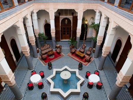 fez: Riad, Fez, Marruecos Editorial