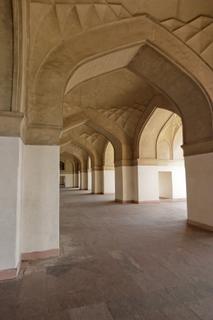 Ancient Arched Hallway