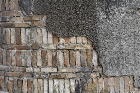 Close Up of an Old Wall