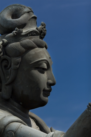 Giant Diva Statue