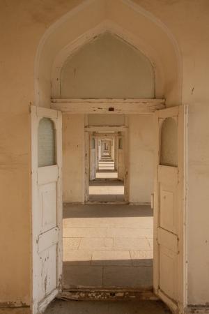 Hallway of Doors Stock Photo - 18380556
