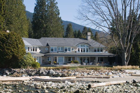 bc: An impressive beach front property, West Vancouver, BC, Canada