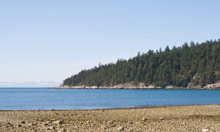 Stearman beach, West Vancouver, BC, Canada  photo