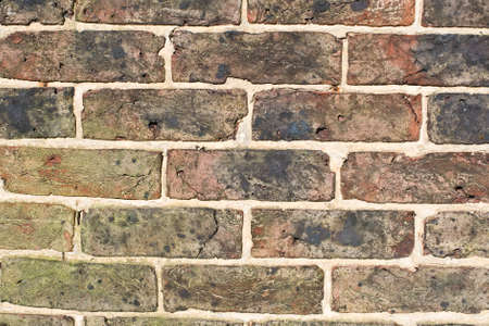 redbrick: An English brick wall from the early 1900